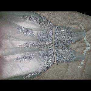 Silver/ gray dress